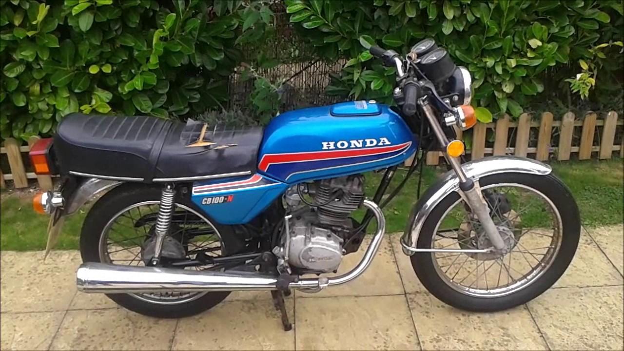 Honda CB100N Restoration Before And After