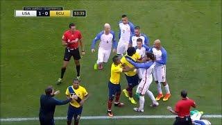 Football Fights 2016 Copa America Centenario