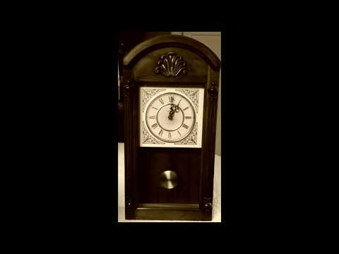 1 hour Grandfather Wall Clock Sounds