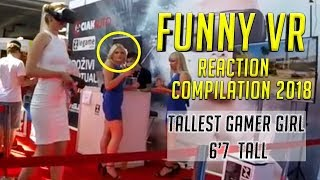 FUNNY VIRTUAL REALITY REACTION COMPILATIONS 2018 #3 SAMSUNG VR PSVR FUNNY VR REACTIONS 面白いビデオ