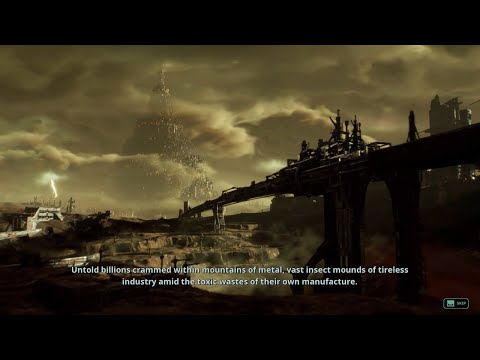 NECROMUNDA : UNDERHIVE WARS CINEMATIC GAME INTRO IN 1080p 60fps |