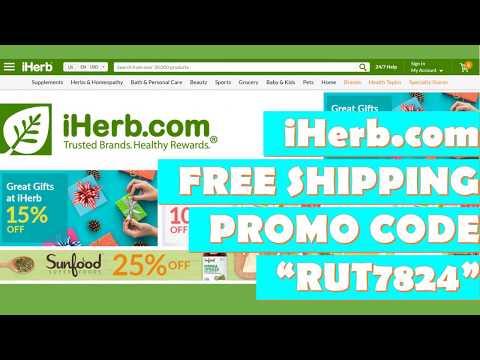 IHerb Free Shipping Code (2020) | Verified IHerb.com Promo Code