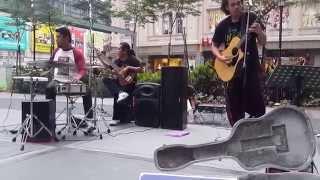 SENtuhan BUsker lagu rakyat AYAM DEN LAPEH, GORENG HABIS