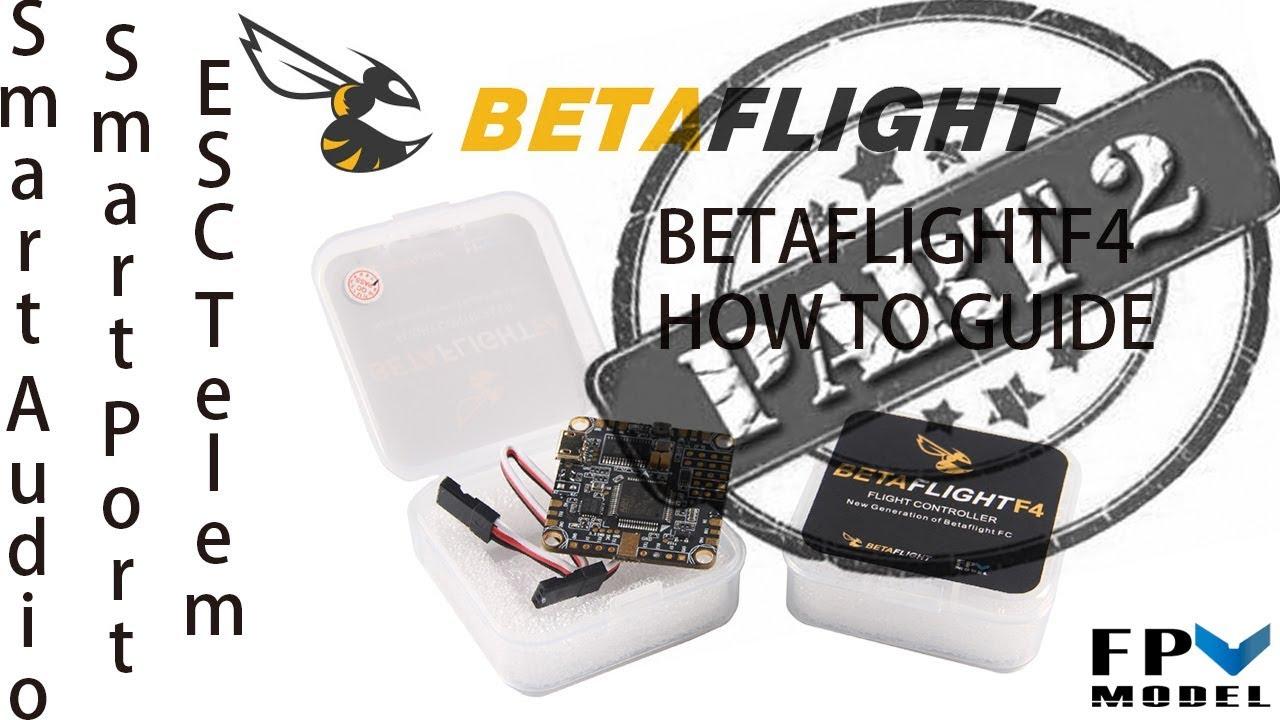 BetaFlight F4 30x30 Flight Controller AIO - BFF4 by FPVMODEL