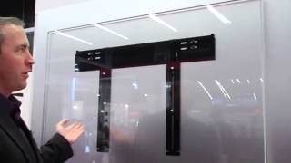 Peerless world's thinest wall mount for flat screens (ISE...