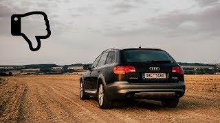 10 Věcí které mně vadí na Audi A6 4F Allroad