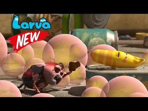 Larva Tuba Full Movie | Episodes Gum fart , Shade , Ice | Larva 2018 Terbaru Cartoon Funny