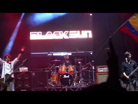 Black Sun - La Pinta, La Niña Y La Santa María (semana del rock 2015) Quito-Ecuador