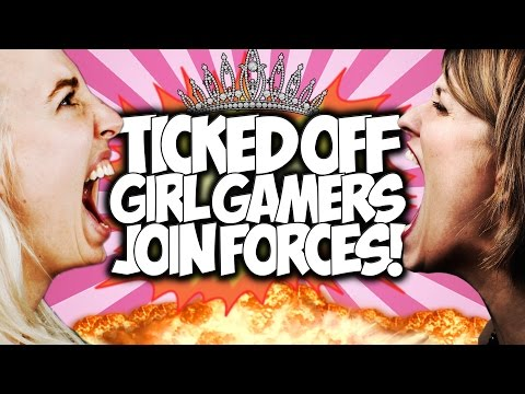 COD BO2: TICKED OFF GIRL GAMERS JOIN FORCES!! \