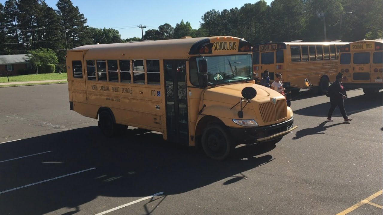 Durham Public School Buses Of Northern High School 2017 Youtube