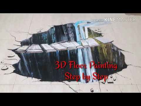 Best of 3D Street Art Illusion/step by step/ Avi's Talking Walls/2017