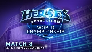 Tempo Storm vs. Brave Heart - Match 8 - Heroes of the Storm World Championship 2015