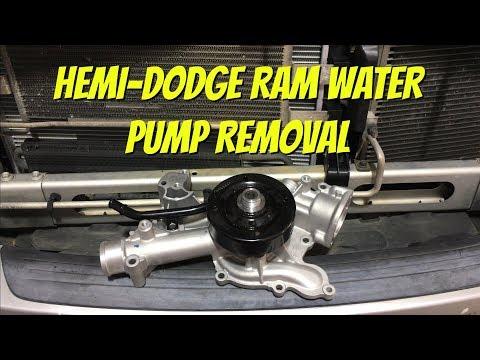 HOW TO REPLACE DODGE RAM 5.7L HEMI WATER PUMP