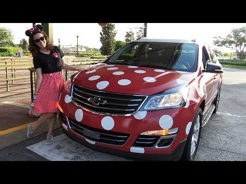 RIDE in a Minnie Van - New Uber Type Service - Walt Disney World - Boardwalk to Magic Kingdom