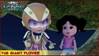 Vir : The Robot Boy | The Giant Flower | 3D Action shows for kids | WowKidz Action