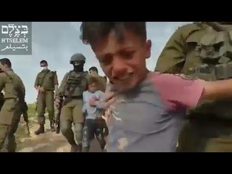 La ONG Israelí B'Tselem Condena El Arresto De 5 Niños Palestinos En Cisjordania