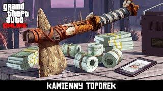 GTA V | KAMIENNY TOPOREK I $250 000! | NOWY RELIKT