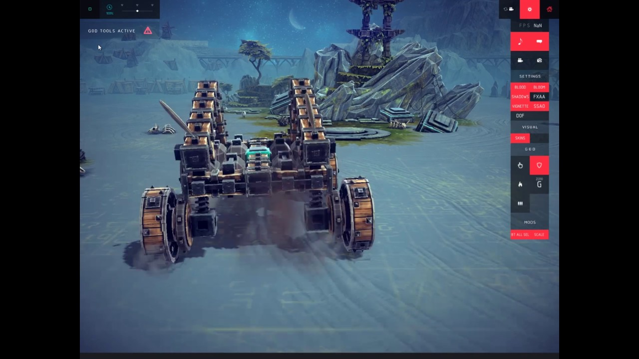 Besiege Making A Dune Buggy