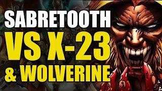 X-23 & Wolverine vs Sabretooth (Marvel Generations: The Best)