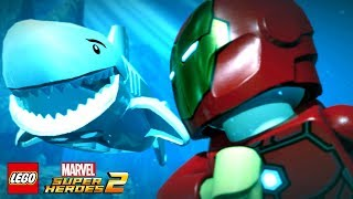 LEGO Marvel Super Heroes 2 Walkthrough Part 2 Avenger's World Tour (Guardians of the Galaxy)
