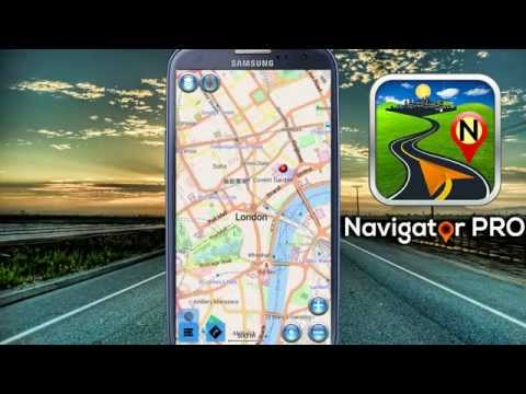 Navigator PRO - Powerful Android GPS Navigation System with