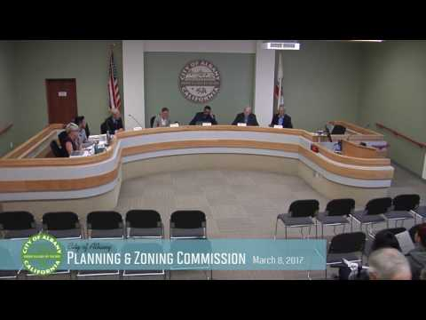 Planning & Zoning Commission - Mar 8, 2017