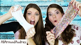 One of AllAroundAudrey's most viewed videos: NICKELODEON SLIME VS SMOOTHFOAM MEGA SLIME KIT! WHICH IS BETTER? / AllAroundAudrey