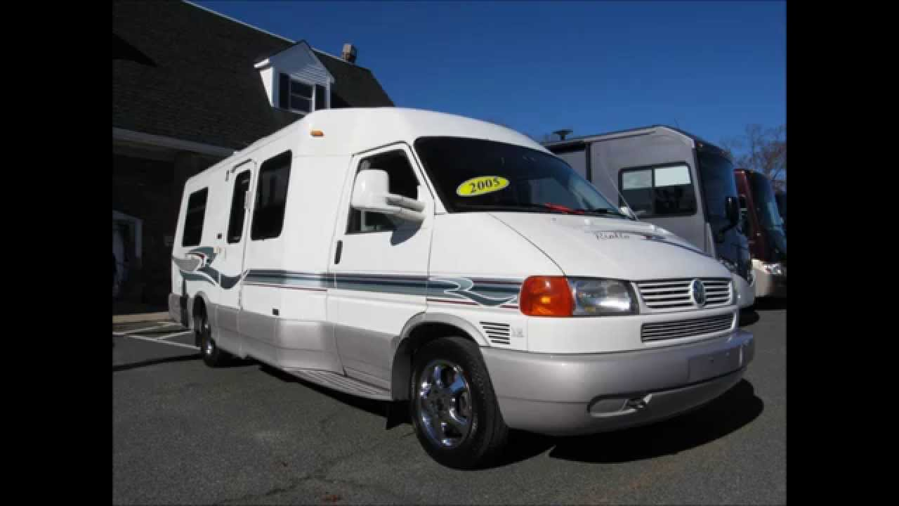 2005 winnebago rialta 22qd volkswagen bus westfalia like vw vanagon rv camper van youtube