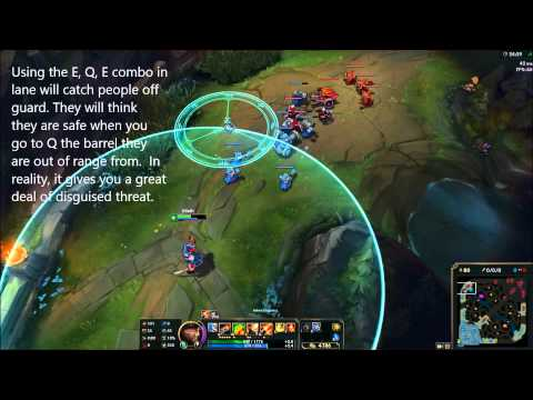 Gangplank Barrel Mechanics