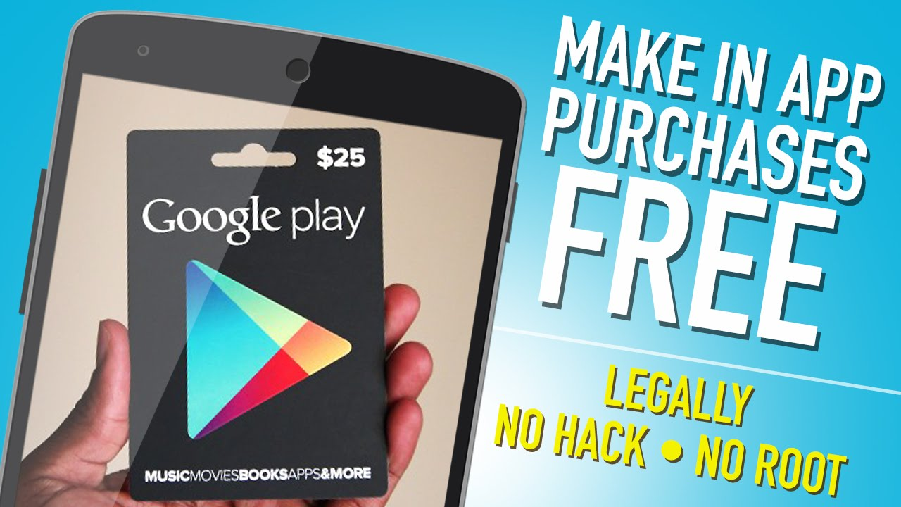 free in app purchases for android