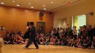 Tango Improvisation:  Andres & Meredith (Playground Love)