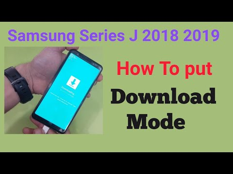 Samsung A7 2018 J8 plus J6 plus A7 2018 ENTER DOWNLOAD MODE for upgrade  firmware -- GSM GUIDE