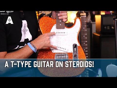 G&L Custom Shop ASAT Guitars - Coolest Finishes Ever?