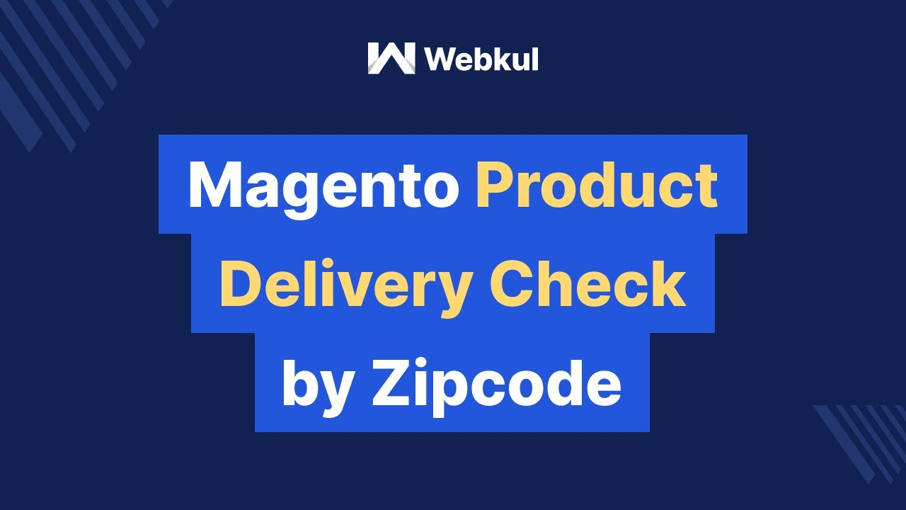 Magento Product Delivery Check By Zip Code YouTube - Us zip code checker