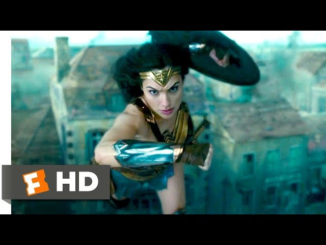 Wonder Woman (2017) - Saving Veld Scene (7/10) | Movieclips