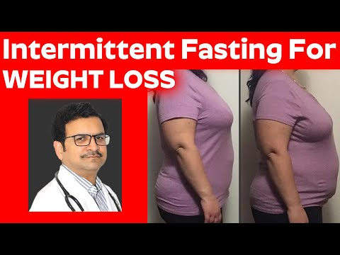 Intermittent fasting for weight loss || Schedule Eating and Lose Weight | Weight loss tips