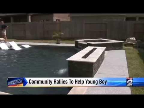 Premier Pools Spas Of Houston Helps Homeowner Finish