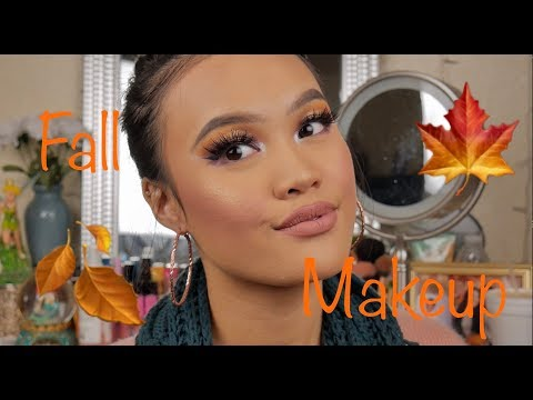 FALL MAKEUP LOOK| STORY TIME WE ALMOST GOT IN A FIGHT AT A RAVE thumbnail