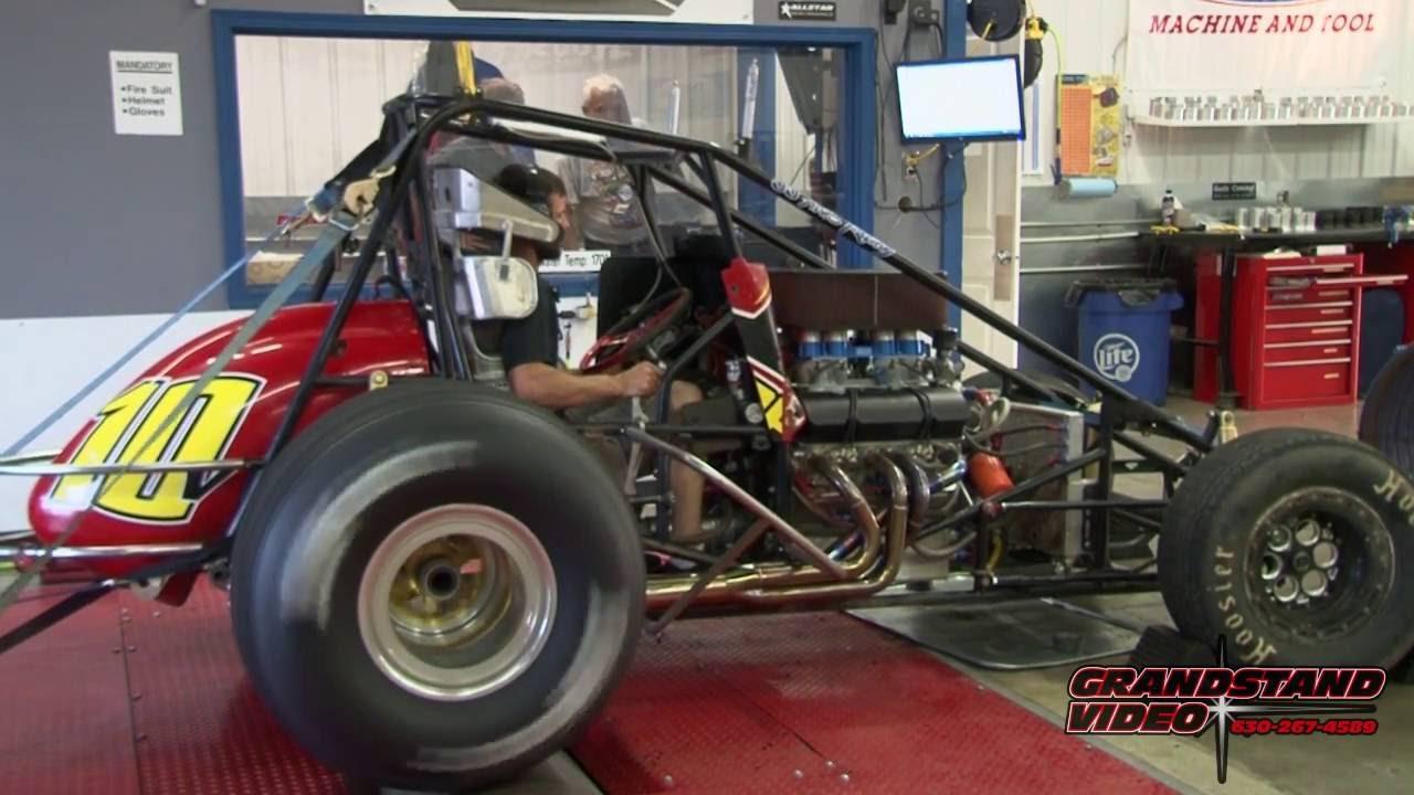 410 sprint car Dyno test