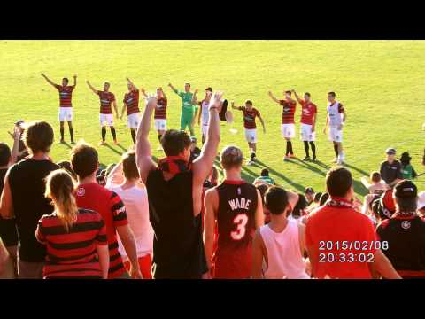WSW v Wellington 8-2-15 - Post Game