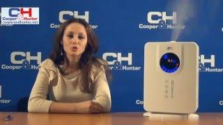 Видеообзор увлажнитель воздуха Cooper&Hunter CH 5001