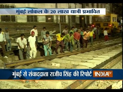 48-hours Mega Block on Mumbai's Harbour Line from Today