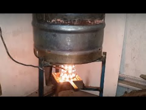 How to build Gravity/drip feed waste oil heater/burner aussie a