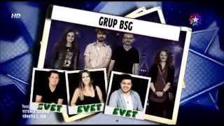 Grup BSG - Yetenek Sizsiniz Türkiye 2. Tur Ropörtaj Bölümü