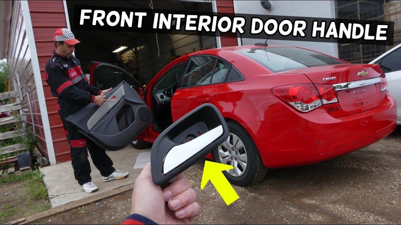 Chevrolet Cruze Front Interior Door Handle Replacement Removal Door Handle Broken Chevy Cruze Youtube