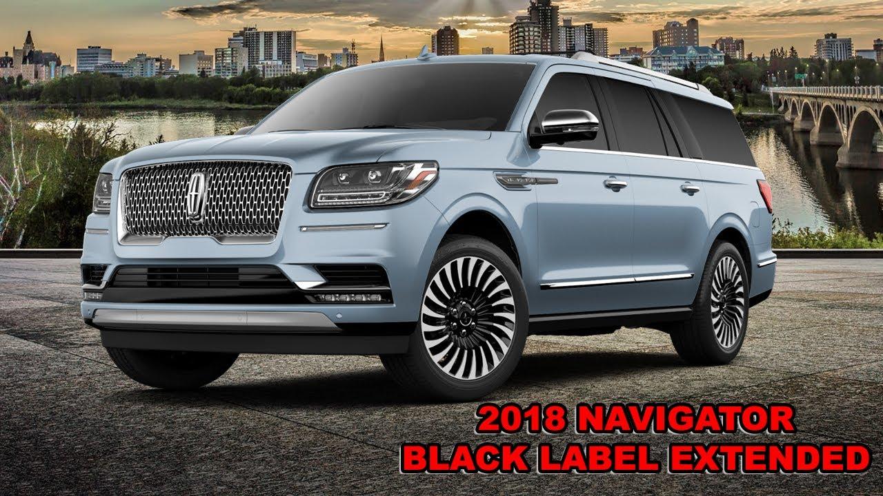 2018 Lincoln Navigator Black Label Extended Colors