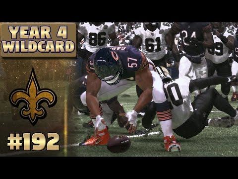 #1 Defense | Saints @ Bears (S4, Wildcard) | Madden NFL 17 New Orleans Saints Franchise Ep. 192