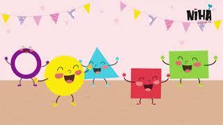 Şekiller Şarkısı / Eğitici ve Eğlenceli Çocuk Şarkıları / Niha Çocuk TV Şarkıları