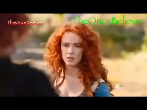 """Once Upon A Time 5x09 Ending Scene Merida & Her Dad """"The Bear King"""" 