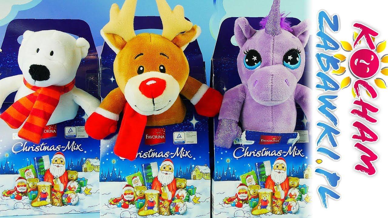 Barbie i Ken • Pluszowe zabawki z niespodzianką • Christmas Mix • Bajki po polsku